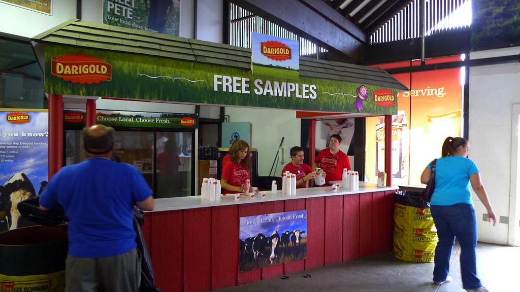 free samples - product sampling marketing