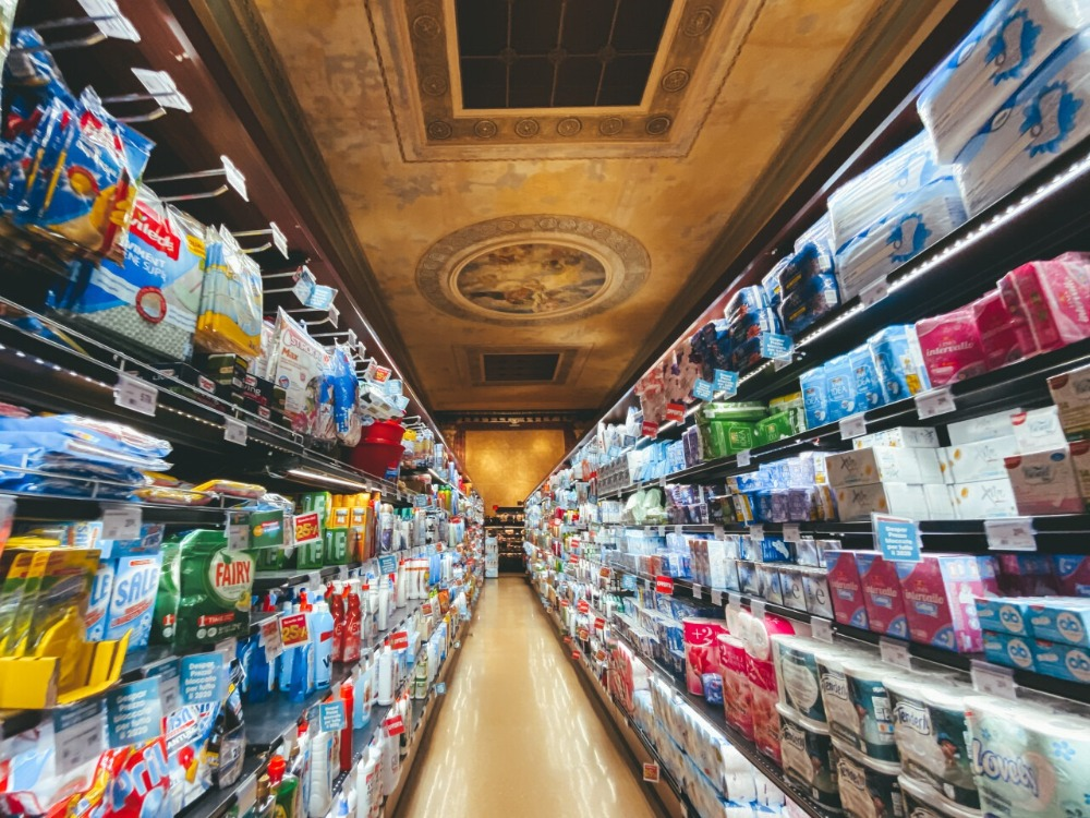 shelf space in retail stores